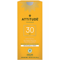 ATTITUDE 100% minerální opalovací krém SPF 30 s vůní Tropical 150 g