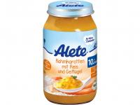 ALETE Bio Mrkev na smetaně s rýží a krůtím masem 220 g