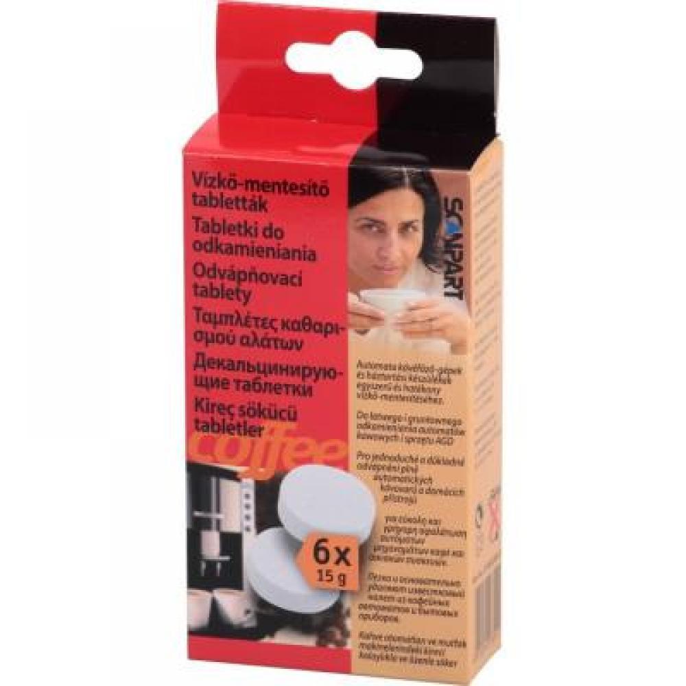 Laica 6 tabletek pro odstraňování vodního kamene do výrobníků kávy atd.