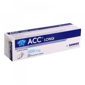 ACC LONG 10x600 mg šumivých tablet