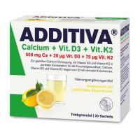 ADDITIVA Vápník + D3 +  K2 nápoj 20 sáčků