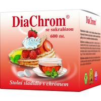 DIACHROM Se sukralózou 600 tablet