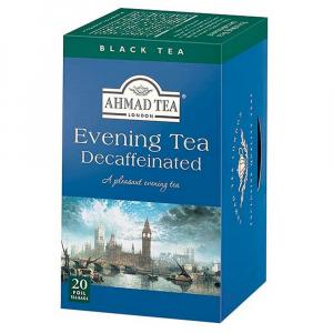 AHMAD TEA Evening Tea Decaffeinated 20 sáčků alupack
