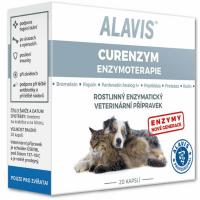 ALAVIS Enzymoterapie-Curenzym pro psy a kočky 20 kapslí