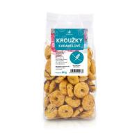ALLNATURE Kroužky karamelové 80 g