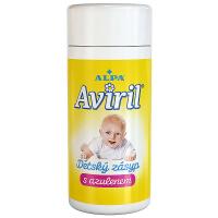 ALPA Aviril dětský zásyp s azulenem v dóze 100 g