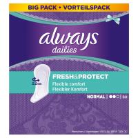 ALWAYS Fresh&Protect Normal Intimní vložky 60 ks