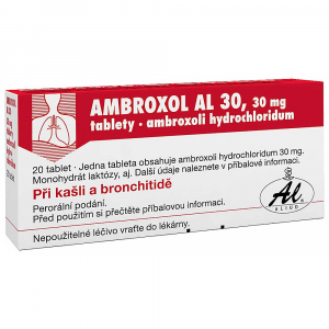 AMBROXOL AL 30  20X30MG Tablety