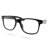 AMERICAN WAY Čtecí brýle Flex černé s kovovým doplňkem +2.50