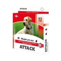 Antiparazitární obojek Attack 65cm pes