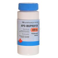 APO-IBUPROFEN 400 mg 100 potahovaných tablet