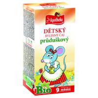 APOTHEKE Dětský čaj průduškový 20 sáčků BIO