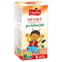 APOTHEKE Dětský čaj ovocný 20 sáčků BIO