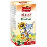 APOTHEKE Dětský čaj Rooibos BIO 20x1,5 g