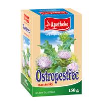 APOTHEKE Ostropestřec mariánský plod sypaný 150 g