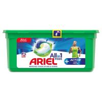 ARIEL kapsle Allin1 Pods + Active Odor Defense 24 PD