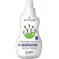 ATTITUDE Prací gel a aviváž 2 v 1 s vůní Mountain Essentials 35 dávek 1050 ml