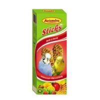 AVICENTRA tyčinky andulka - ovoce + med 2 kusy