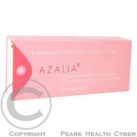 AZALIA 75 MIKROGRAMŮ POTAHOVANÉ TABLETY  28X75MCG Potahované tablety