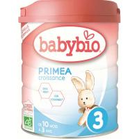 BABYBIO Primea 3 Pokračovací batolecí mléko od 10 měsíce do 3 let BIO 800 g