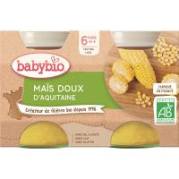 BABYBIO Sladká kukuřice 2x130 g