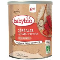 BABYBIO Zeleninová nemléčná kaše s rajčaty a paprikou 220 g