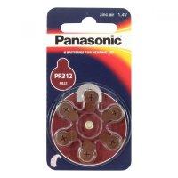 Baterie do naslouchadel PR-312L(41)/6LB Panasonic