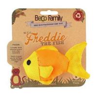 BECO Family Rybka Freddie hračka pro kočky s šantou kočičí