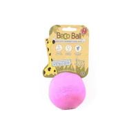 BECO Ball EKO míček pro psy - růžový L