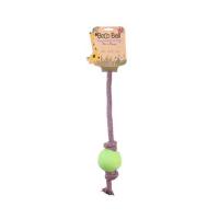 BECO Ball EKO lano s míčkem pro psy - zelená S