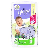BELLA HAPPY Maxi Big Pack Dětské pleny 8-18kg 66 ks