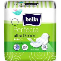 BELLA Perfecta Hygienické vložky Green Ultra 10 ks