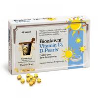 PHARMA NORD Bioaktivní vitamín D3 D-Pearls 40 tablet