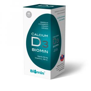 Calcium s vitaminem D cps. 60