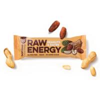 BOMBUS Raw energetická tyčinka arašídy a datle 50 g