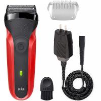 BRAUN Series 3 300s Red Elektrický holicí strojek