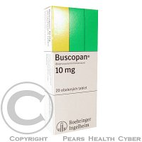 BUSCOPAN  20X10MG Obalené tablety