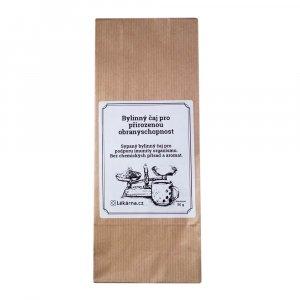 Bylinný čaj pro přirozenou obranyschopnost pro podporu imunity od LÉKÁRNA.CZ 50 g