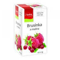 APOTHEKE Brusinka a malina 20x2 g
