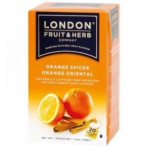 LONDON FRUIT & HERB Pomeranč se skořicí 20x2 g