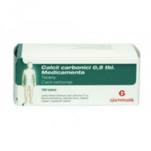 CALCII CARBONICI MEDICAMENTA 0.5 g 100 tablet