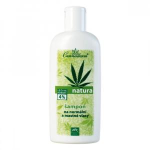 CANNADERM Natura Šampon na normální a mastné vlasy 200 ml