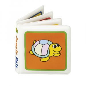 CANPOL BABIES Měkká knížka pískací vybarvovací