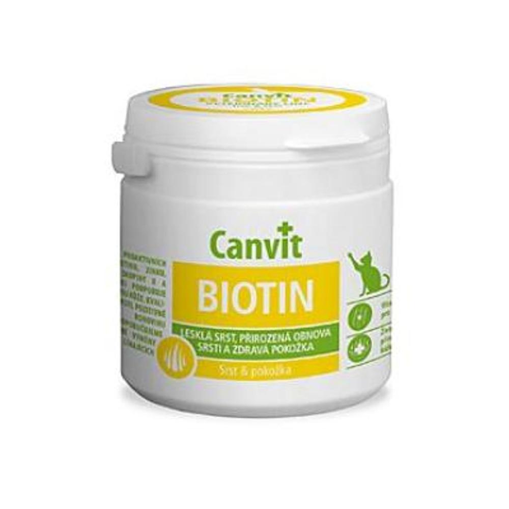 CANVIT Biotin pro kočky 100 g