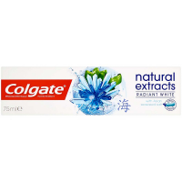COLGATE Zubní pasta Natural Extract Radiant White 75 ml