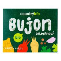 COUNTRY LIFE Bujon zeleninový kostky 6 ks BIO