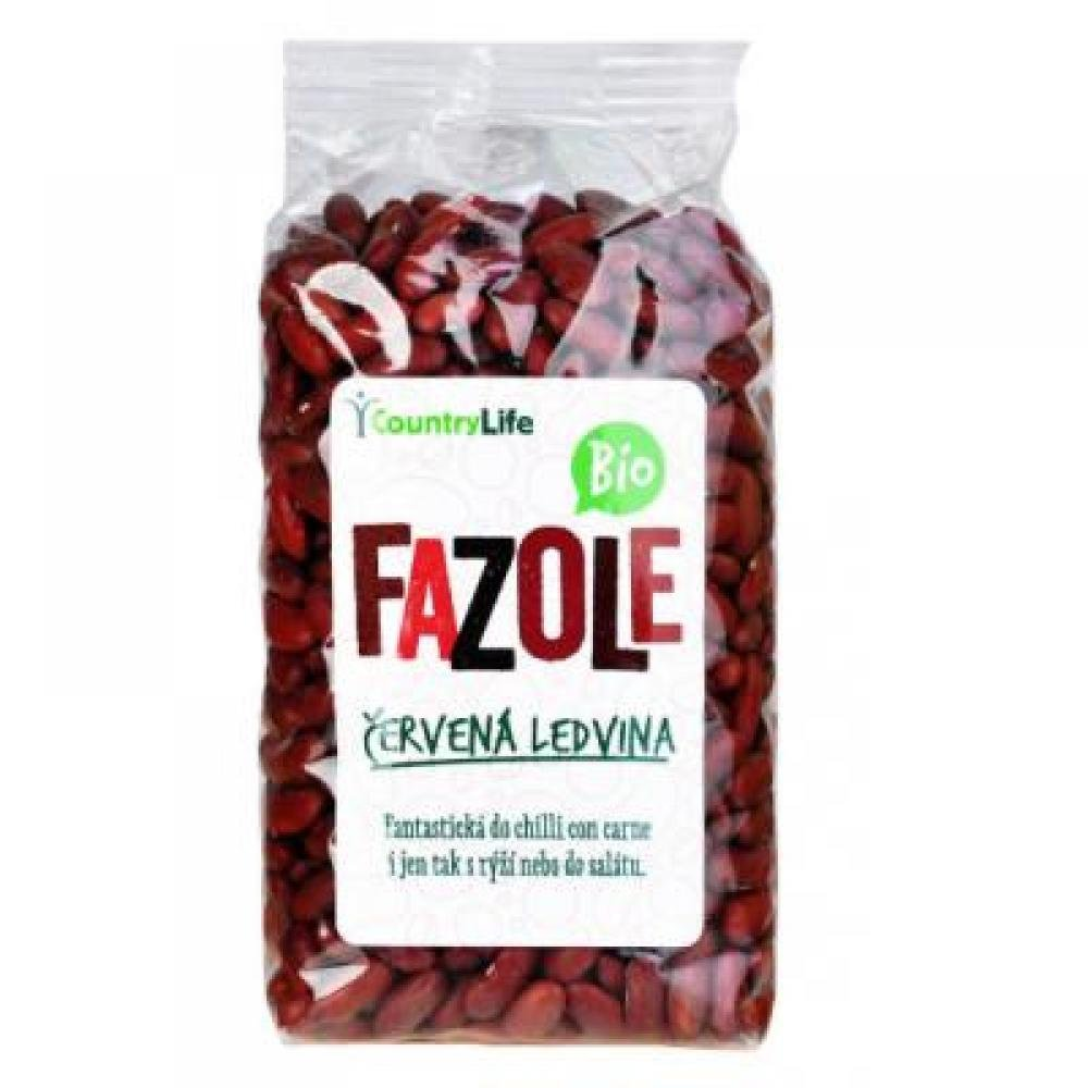 COUNTRY LIFE Fazole červená ledvina 500 g BIO