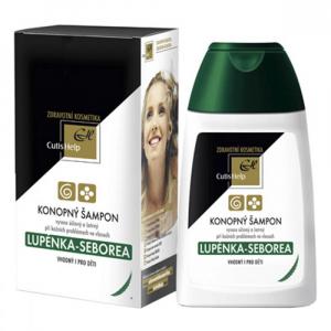 CUTISHELP Konopný šampon Lupénka-Seborea 200 ml