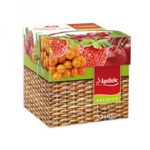 DÁREK APOTHEKE Variace ovocných čajů 12 sáčků