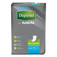 DEPEND For Men 2 inkontinenční vložky pro muže 14 kusů
